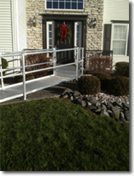 holiday aluminum ramp