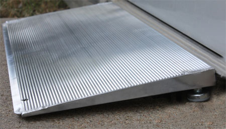 Adjustable Self Supporting Threshold Ramp