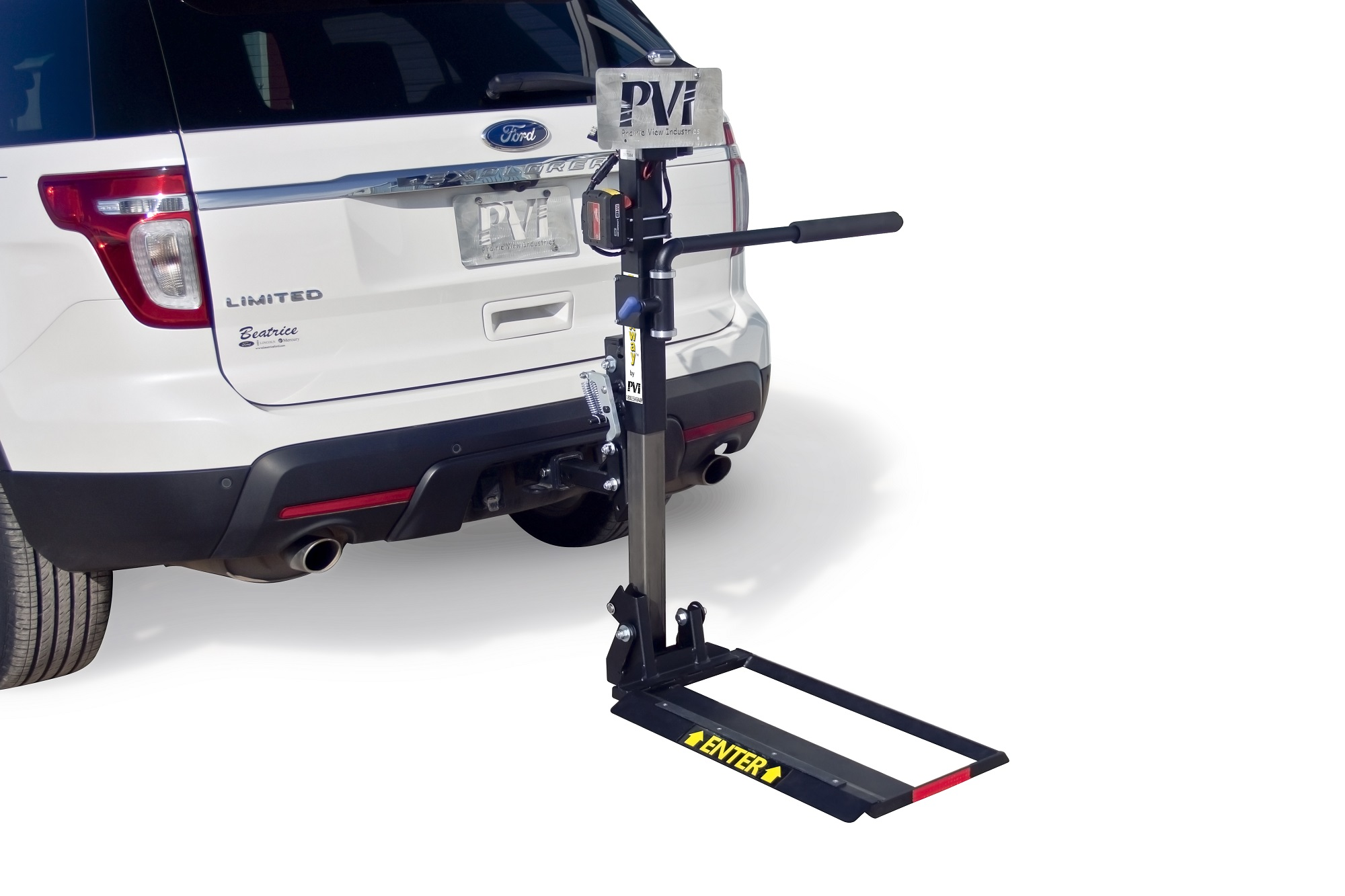 TrekAway Mid wheel powerchair Lifts Model INDE - 3