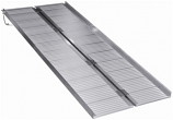 Raised Traction Single fold Aluminum Ramp