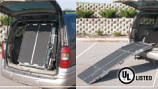 Trifold Rear Door Van Ramp TFRDV